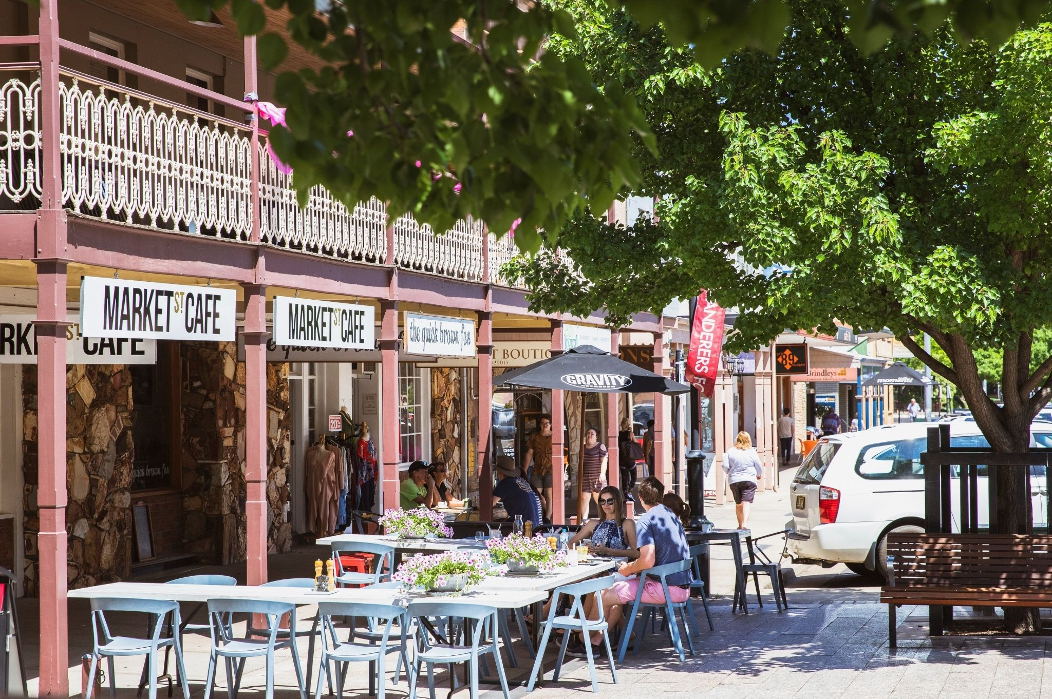 An image of Market Street Cafe in Mudgee NSW