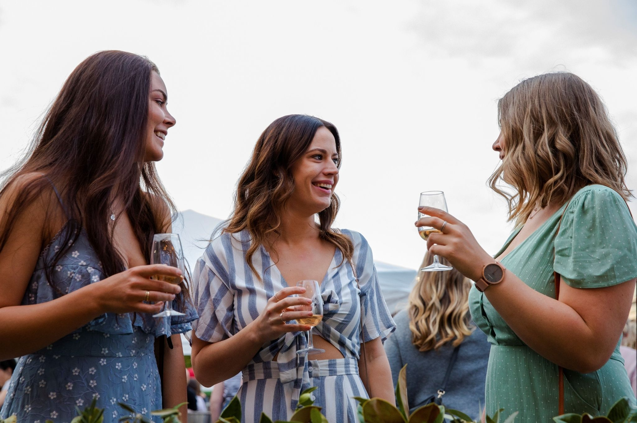 Image of three women at the Food and Wine Festival in Mudgee NSW