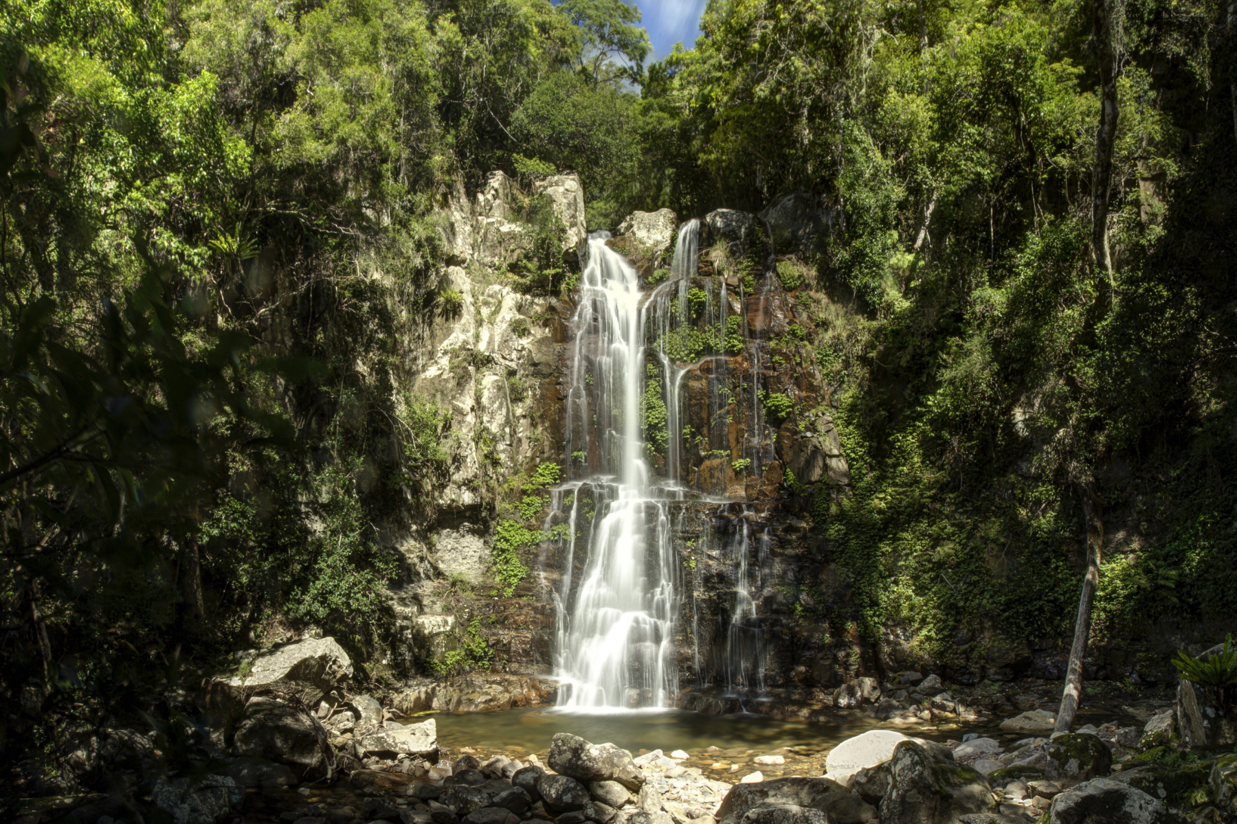 Image of Upper and Lower Minnamurra Falls at Budderoo National Park in NSW