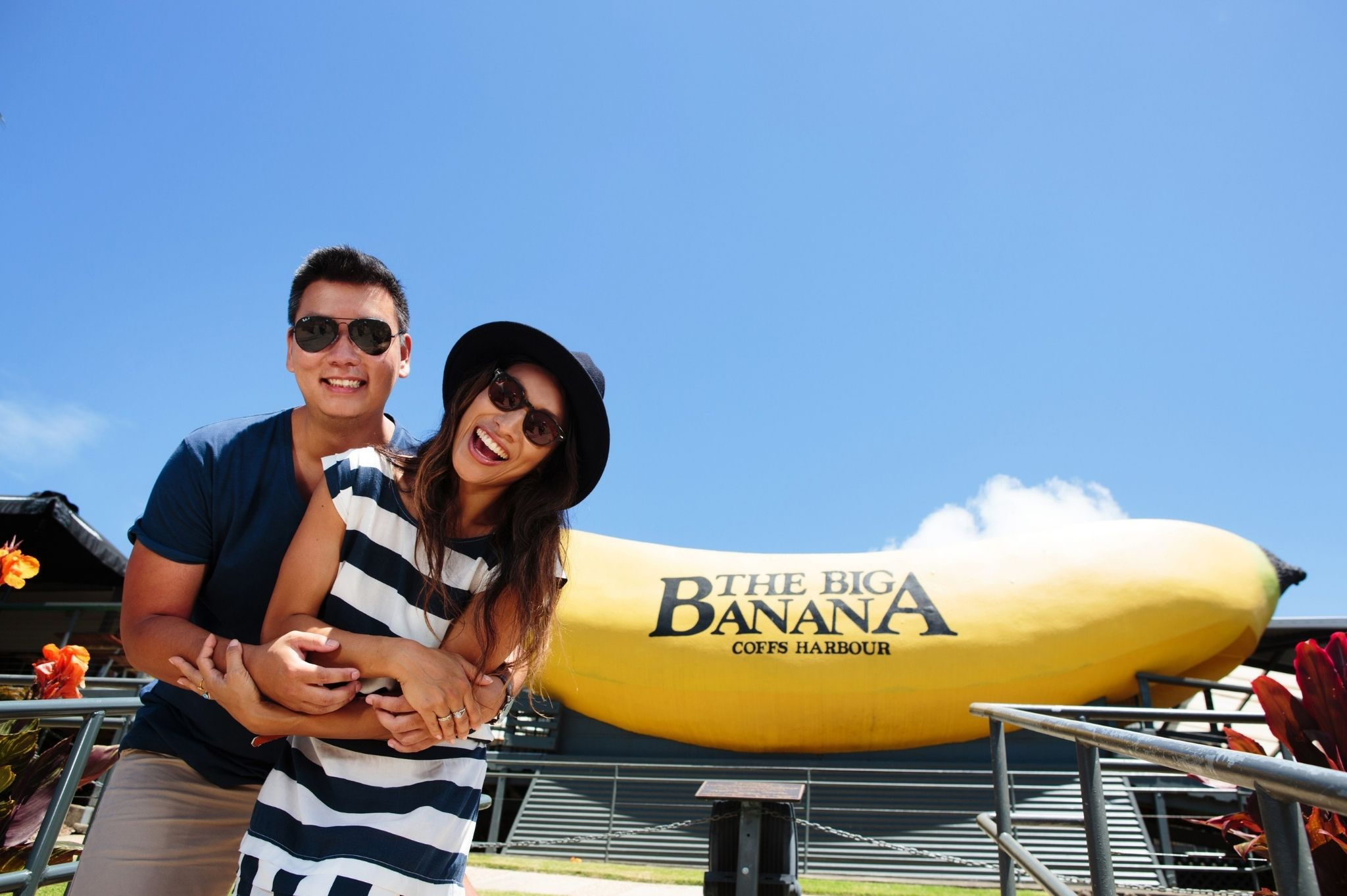 Image of a couple at The Big Banana Fun Park in Coffs Harbour NSW