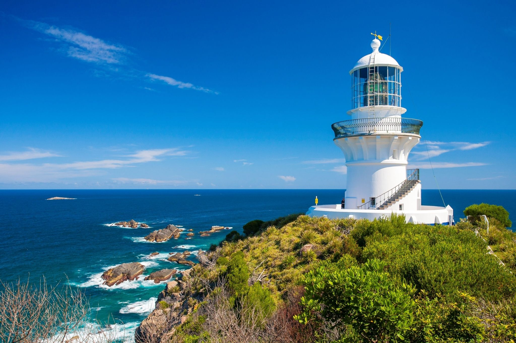 Image of Sugarloaf Point Lighthouse in Seal Rocks NSW