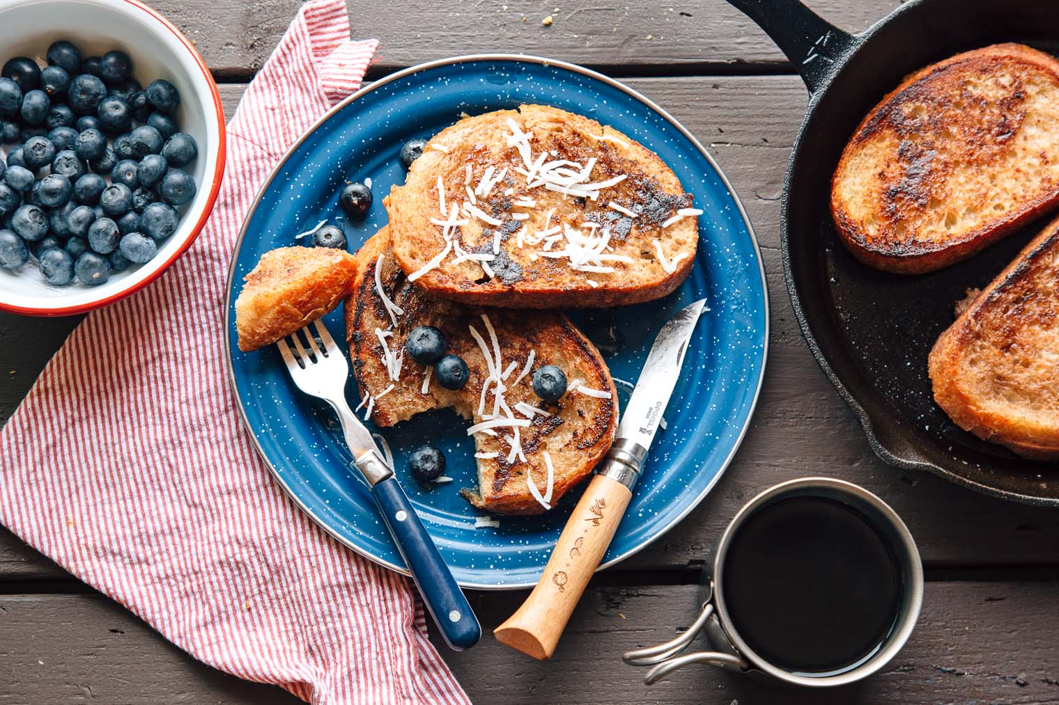 Image of Vegan Coconut French Toast