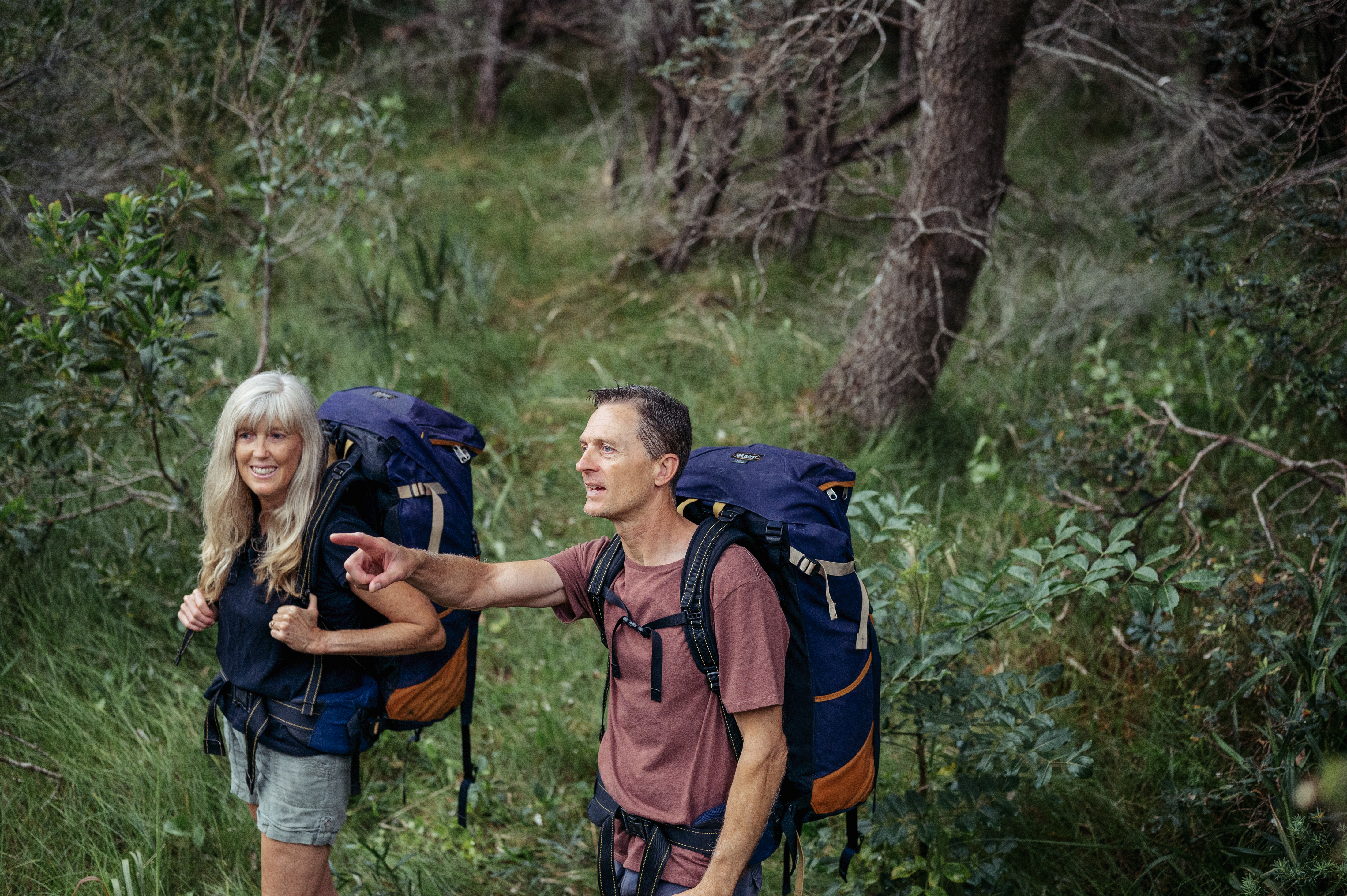 Image of a couple hiking at Reflections Holiday Parks Jimmys Beach