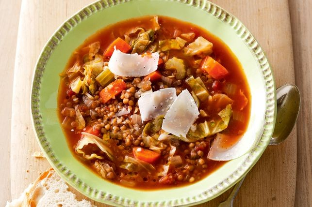 Image of Hearty Lentil and Vegetable Soup