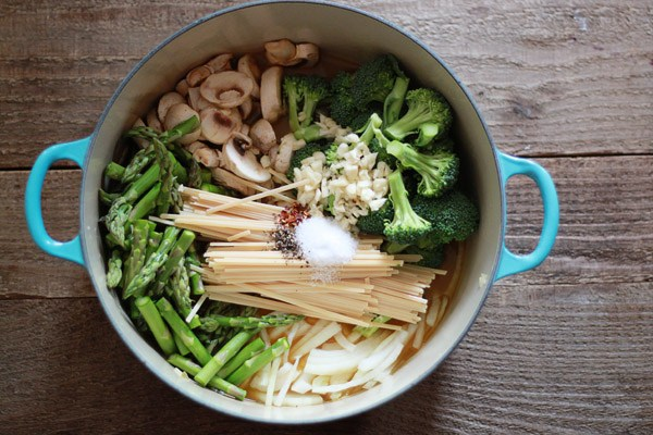 Image of One Pot Pasta Primavera